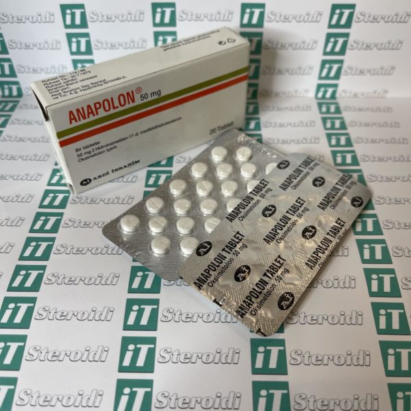 Confezione Anapolon (Oxymetholone) 50 mg Abdi Ibrahim