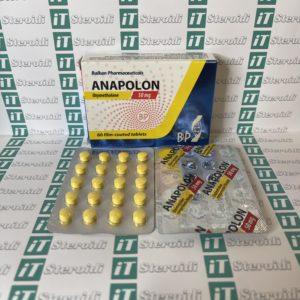 Confezione Anapolon (Oxymetholone) 50 mg Balkan Pharmaceuticals