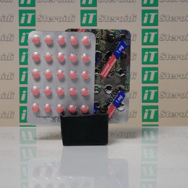 Confezione Anastrozol 1 mg Balkan Pharmaceuticals