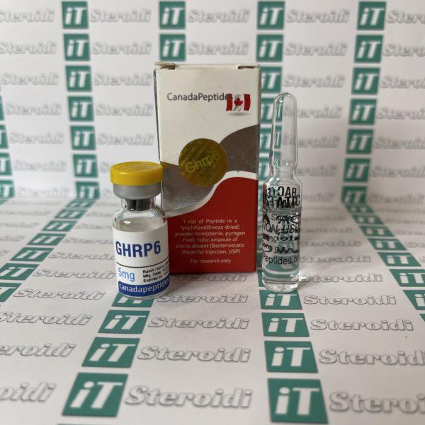 Confezione GHRP 6 5 mg Canada Peptides