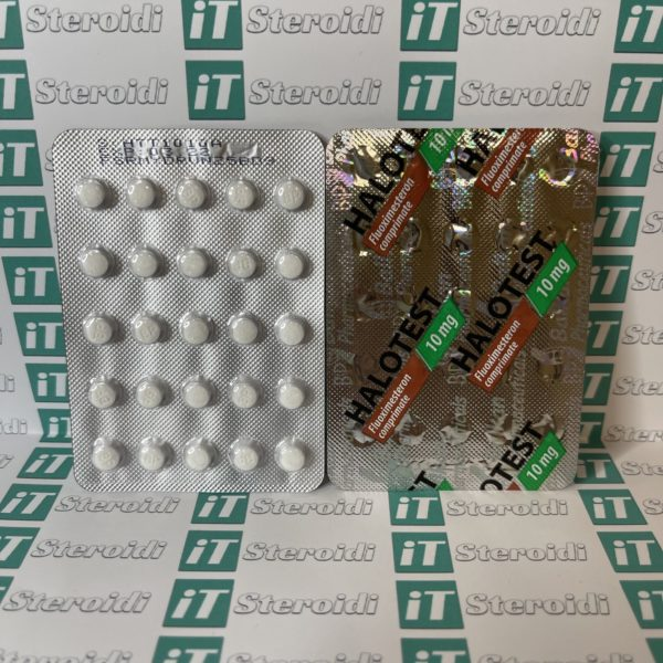 Confezione Halotest 10 mg Balkan Pharmaceuticals