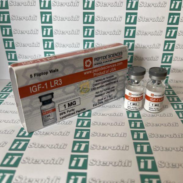 Confezione IGF1 LR3 1mg Peptide Sciences