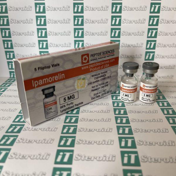 Confezione Ipamorelin 5 mg Peptide Sciences