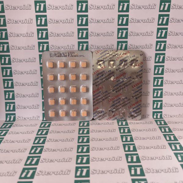Confezione Pharma Letrozol Balkan Pharmaceuticals 2,5 mg