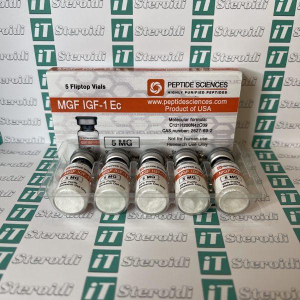 Confezione MGF IGF-1Ec 5 mg Peptide Sciences