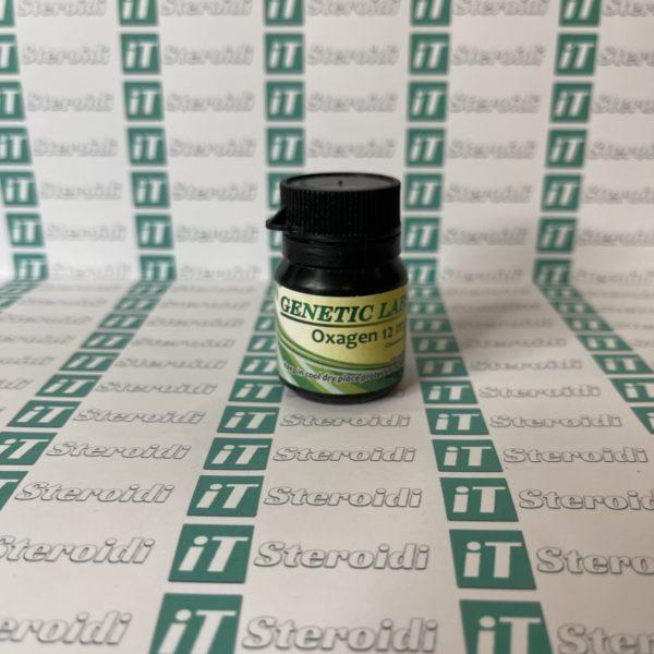 Confezione Oxagen 12 mg Genetic Labs