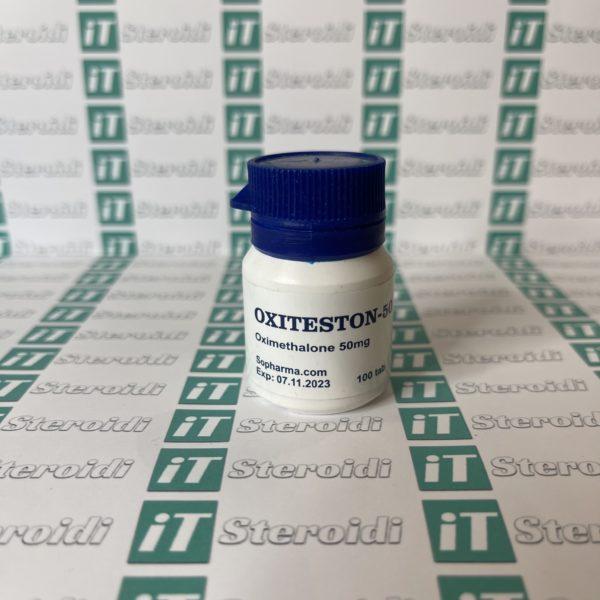 Confezione Oxiteston 50 mg Sopharma
