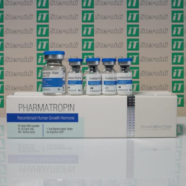 Confezione Pharmatropin 10 IU Pharmacom Labs