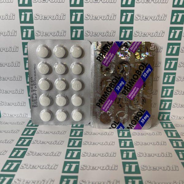 Confezione Primobol (Methenolon) 50 mg Balkan Pharmaceuticals