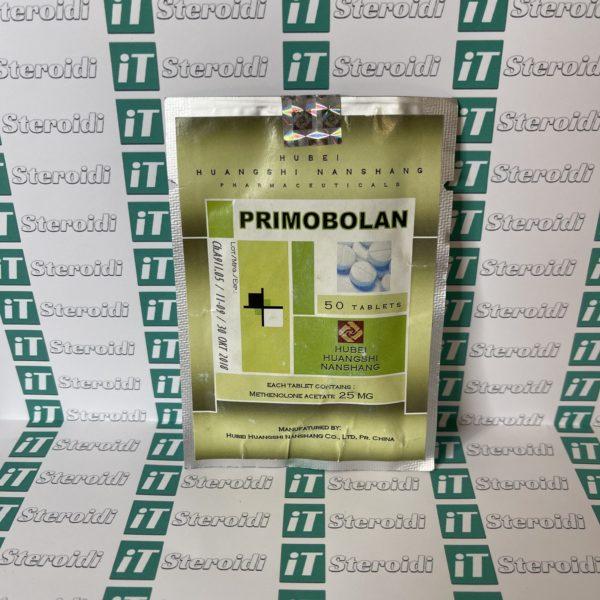Confezione Primobolan (Methenolone Acetate) 25 mg Hubei Huangshi Nanshang