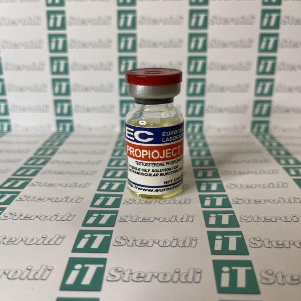 Confezione Propioject (Testosteron Propionat) 100 mg Eurochem Labs