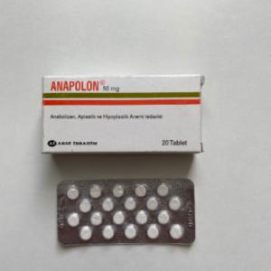 Anapolon (Oxymetholone) 50 mg Abdi Ibrahim