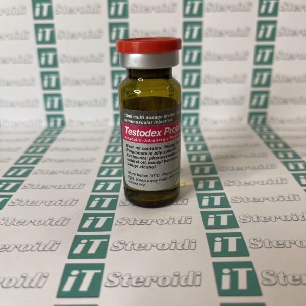 Confezione Testodex Propionate 100 mg Sciroxx