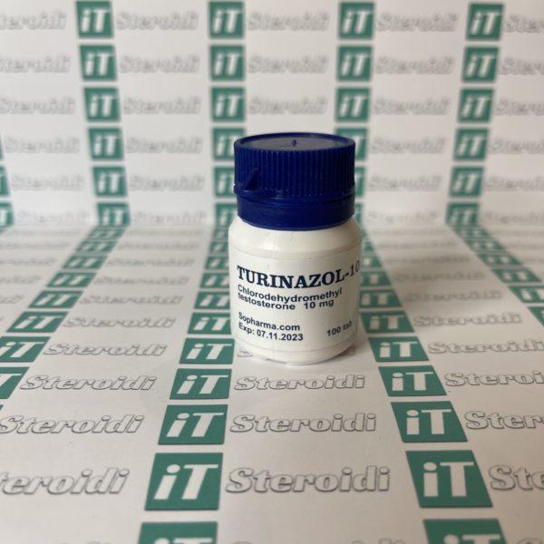 Confezione Turinazol 10 mg Sopharma