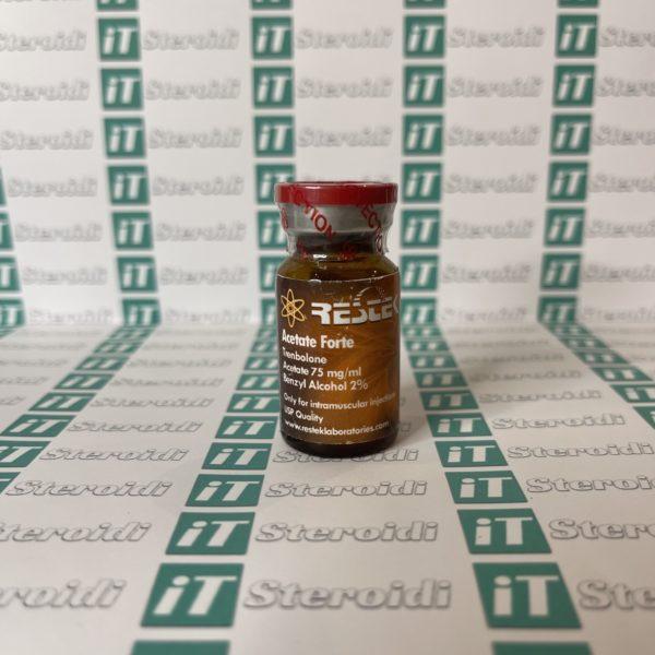 Confezione Acetate Forte 75 mg Restek Laboratories