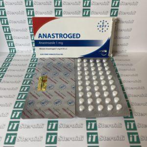 Confezione Anastroged (Anastrozolo) 1 mg Euro Prime Farmaceuticals