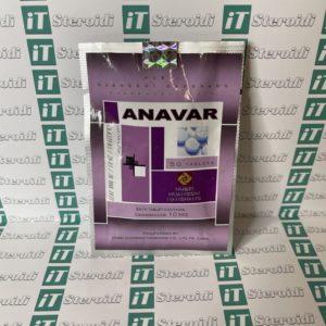 Confezione Anavar (Oxandrolone) 10 mg Hubei Huangshi Nanshang