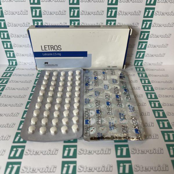 Confezione Letros 2,5 mg Pharmacom Labs