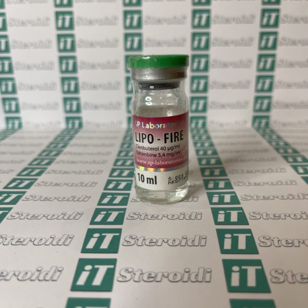 Confezione Lipo-Fire 10 ml SP Laboratories