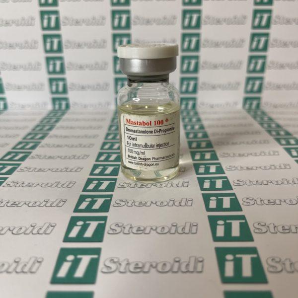 Confezione Mastabol 100 mg British Dragon Pharmaceuticals