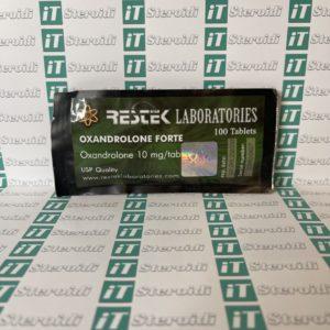 Confezione Oxandrolone Forte 10 mg Restek Laboratories