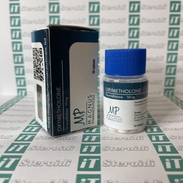 Confezione Oxymetholone 50 mg Magnus Pharmaceuticals