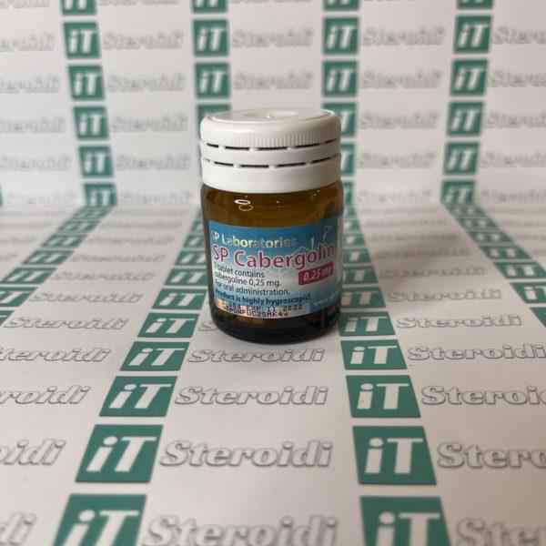 Confezione SP Cabergoline 0,25 mg SP Laboratories