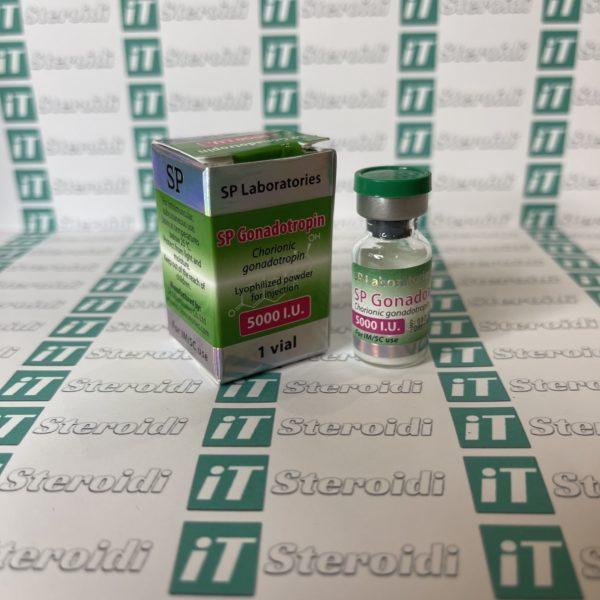 Confezione SP Gonadotropin 5000 IU SP Laboratories