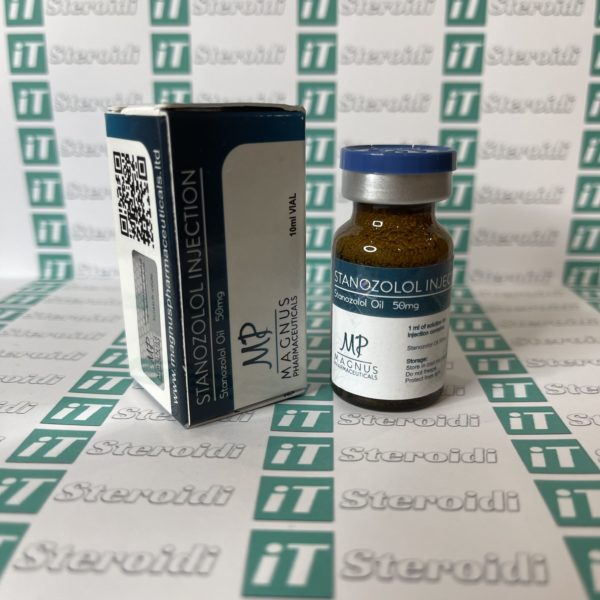 Confezione Stanozolol 50 mg Magnus Pharmaceuticals