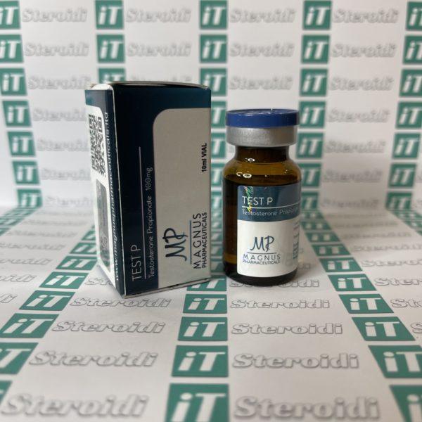 Confezione Test P ( Testosterone Propionate) 100 mg Magnus Pharmaceuticals