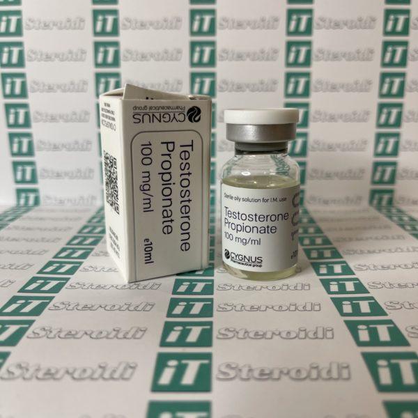 Confezione Testosterone Propionate 100 mg Cygnus