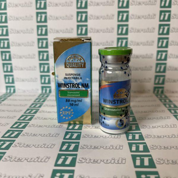 Confezione Winstrol NM 50 mg Euro Prime Farmaceuticals
