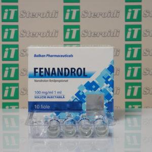 Confezione Fenandrol 100 mg Balkan Pharmaceuticals